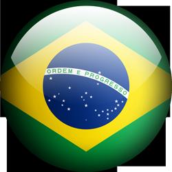 Brazil button by Lassal