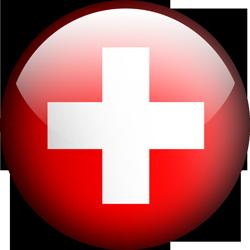 Switzerland button by Lassal