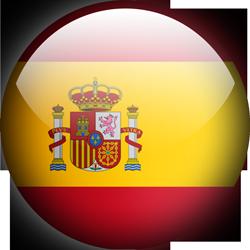 Spain button by Lassal
