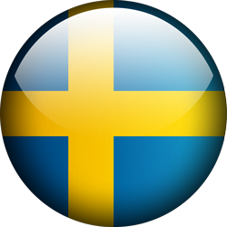 Sweden button by Lassal