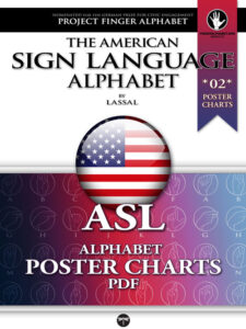 ASL Poster Charts 02 Project FingerAlphabet