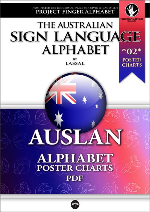 AUSLAN PosterCharts 02 - Project FingerAlphabet